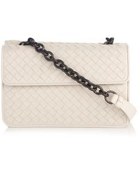 Bottega Veneta Intrecciato Leather Shoulder Bag - Lyst