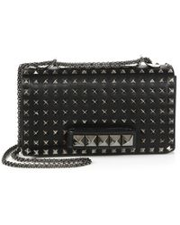 Valentino Va Va Voom Studded Shoulder Bag - Lyst