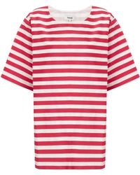 Samuji Red Stripe Sister Top - Lyst