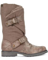 Roxy Brown Warwick Boots - Lyst