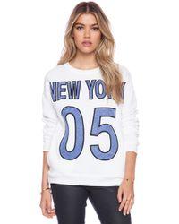 Hye Park and Lune - Gaia New York Sweatshirt - Lyst