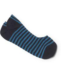 Club Monaco - Wide Stripe Loafer Sock - Lyst