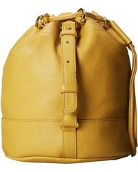 See By Chloé Vicki Small Bucket with Crossbody Strap - Lyst