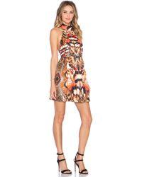 Ringuet Lucidity Open-Back Dress  - Multicolor