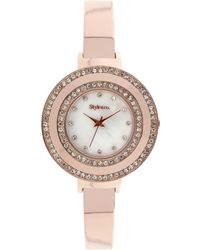 Style & Co. Women's Rose Gold-tone Bracelet Watch 35mm Sy006rg - Only At Macy's - Pink