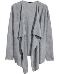 H&M   Fine-knit Cardigan   Lyst