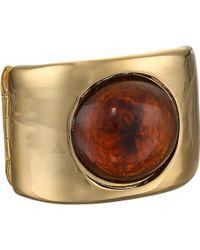 Kenneth Jay Lane Gold Bracelet - Lyst