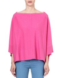 Juicy Couture Cashmere Poncho - Pink
