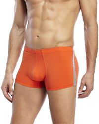 DKNY - Formula 1 Hip Trunks - Lyst