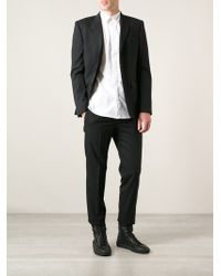 Givenchy Black Classic Suit - Lyst