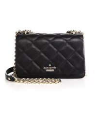 Kate Spade Emerson Place Vivenna Quilted Leather Crossbody Bag - Lyst