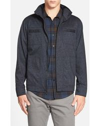 Kane & Unke - Trim Fit Triblend Jacket - Lyst