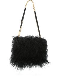 Maiyet - Shearling Amonet Bag - Black - Lyst