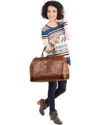 Nila Anthony - Keystone State Weekend Bag In Whiskey & Molasses - Lyst