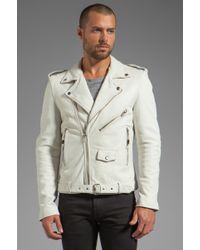 BLK DNM Leather Jacket 5 - White