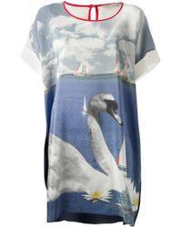 Emma Cook - Swan and Sailing Kaftan Dress - Lyst