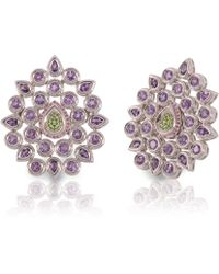 Vara Of London - The Silver Fleur De Chine Ring - Lyst