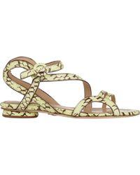 Chelsea Paris - Women's Snakeskin Amor Sandals - Lyst