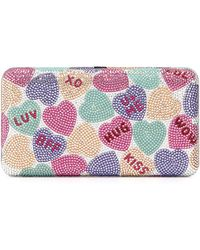 HUNTER - Candy Hearts Crystal Clutch Bag - Lyst