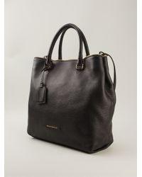 Emporio Armani Slouchy Tote Bag - Black