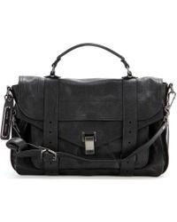 Proenza Schouler Ps1 Medium Leather Tote - Lyst