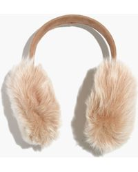 Madewell - Owen Barry™ Fur Earmuffs - Lyst