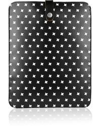 Marni Printed Pvc Ipad Sleeve - Black
