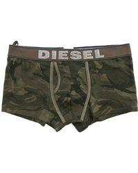 Diesel Divine Khaki Camo Print Boxers khaki - Lyst