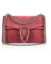 Gucci | Dionysus Small Suede Shoulder Bag | Lyst