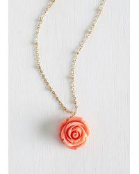 Ana Accessories Inc - Retro Rosie Necklace - Lyst