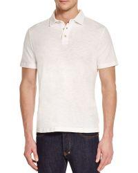 Surfside Supply - Slub Knit Regular Fit Polo Shirt - Lyst