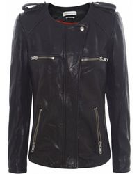 Isabel Marant Bacuri Leather Jacket - Lyst