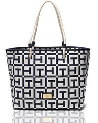 Tommy Hilfiger Th Graphic Tote - Lyst
