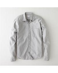 Steven Alan Reverse Seam Shirt - Lyst