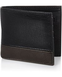 River Island Black and Grey Wallet - Lyst