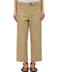 Isabel Marant Onos Cropped Pants - Lyst