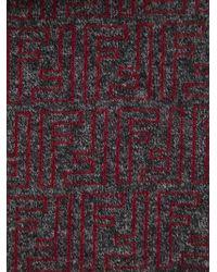 Fendi Ff Logo Scarf - Lyst