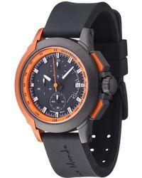 Ritmo Mundo - 'quantum Ii' Chronograph Silicone Strap Watch - Lyst