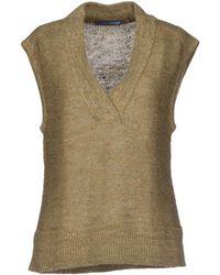 Ralph Lauren Green Sweater - Lyst