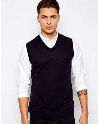 ASOS Knitted Vest - Black