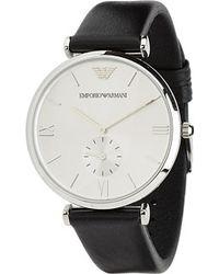 Emporio Armani Black watches - Lyst