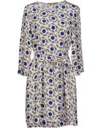 Peter Jensen Short Dress multicolor - Lyst