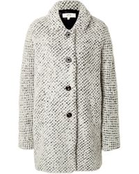 Vanessa Bruno Athé - Textured Single Breasted Coat - Lyst