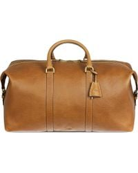 Mulberry Clipper Small Pebbledleather Holdall Oak - Lyst