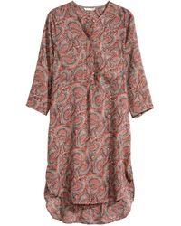 H&M Tunic Dress multicolor - Lyst