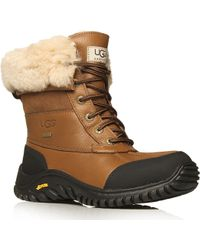 Ugg Adirondack Ii Lace-up Leather Boots - Lyst