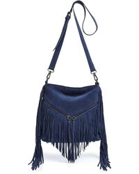 Sorial - Carli Medium Suede Crossbody - Lyst