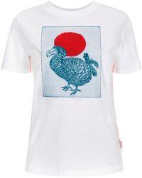 Paul Smith | Women's White 'dodo' Print T-shirt | Lyst