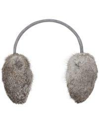 Joie - Tobi Fur Earmuffs - Lyst
