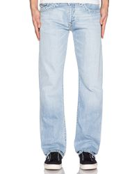 True Religion Naturaline Super T Ricky With Flap - Lyst